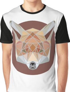 Fox Geometric Graphic T-Shirt