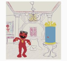 Elmo's Palace One Piece - Short Sleeve