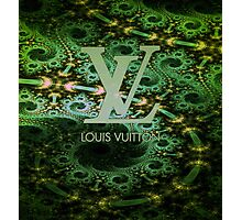 Louis Vuitton Green Photographic Print