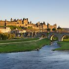 View of Carcassonne by PhotoBilbo