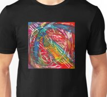 Dance Notation of Dog After Receiving a Treat, watercolor by Dan Vera Unisex T-Shirt