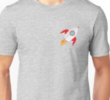 A rocket that rocks Unisex T-Shirt
