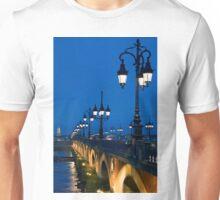 Pont Sur la Garonne, Bordeaux Unisex T-Shirt
