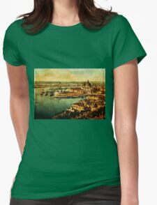 Venice Observed Womens Fitted T-Shirt