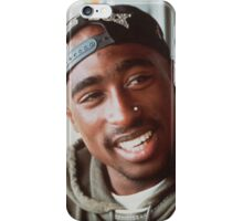 2pac White Sox Hat iPhone Case/Skin