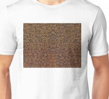 Fractal clock abstract background Unisex T-Shirt