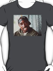 2pac White Sox Hat T-Shirt