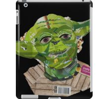 Yoda, star wars Jedi master iPad Case/Skin