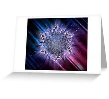 Mandala - Universe Greeting Card