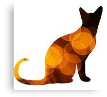 Halloween Kitty Canvas Print