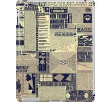 Wizarding Newspaper during Coffee iPad Case/Skin
