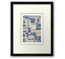 Wizarding Newspaper during Coffee Framed Print