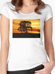 Lone Tree Women's Fitted Scoop T-Shirt