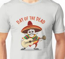 Day of the Dead Mexican Musician Unisex T-Shirt