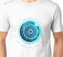 Throat Chakra (White Background) Unisex T-Shirt