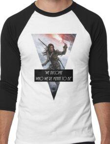 Lara Croft 2015-16 Men's Baseball ¾ T-Shirt