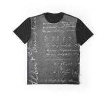 Albert Einstein notes Graphic T-Shirt