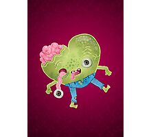 Zombie Heart Photographic Print