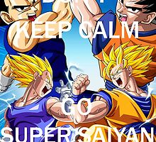 Don't Keep Calm, Go Super Saiyan (1) by LagrangeMulti