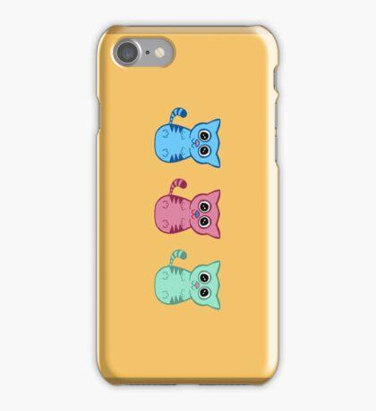 Three Sleepy Kittens iPhone Case/Skin