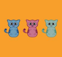 Three Sleepy Kittens T-Shirt