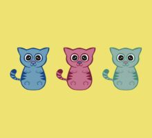 Three Sleepy Kittens Kids Clothes
