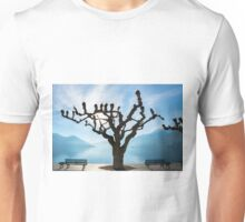 Tree and bench Unisex T-Shirt