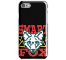 Smart fox iPhone Case/Skin