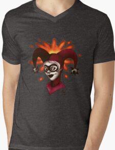 Cherry Cola Knock Out Mens V-Neck T-Shirt