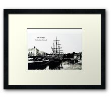 THE TALL SHIPS Framed Print
