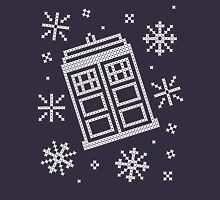 Police Box Christmas Sweater + Card Long Sleeve T-Shirt
