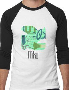 PictoMiku  Men's Baseball ¾ T-Shirt