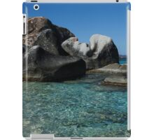 Sunny Caribbean Beach - The Baths on Virgin Gorda, British Virgin Islands, BVI iPad Case/Skin