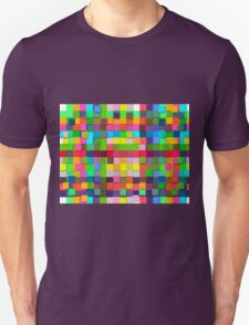 Colorful vector sticky notes Unisex T-Shirt