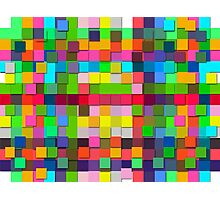 Colorful vector sticky notes Photographic Print