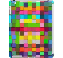 Colorful vector sticky notes iPad Case/Skin