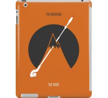 The Mountain Vs The Viper iPad Case/Skin