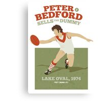 Peter Bedford, South Melbourne - white shirts Canvas Print