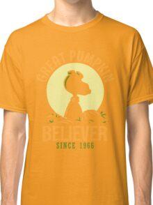 Great Pumpkin Believer, Funny Halloween Custom For Men And Women Classic T-Shirt