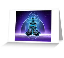Astral Travel Greeting Card