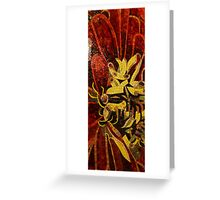 Imagination in Reds and Yellows Greeting Card