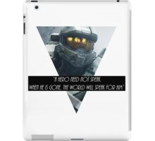 Master cheif iPad Case/Skin