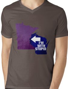 Minnesota...they think they're so smart Mens V-Neck T-Shirt