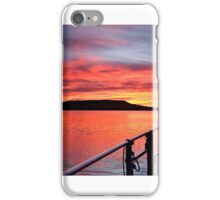 .Nautical Sailboat Sunrise. Photo Art, Prints, Gifts, and Apparel. iPhone Case/Skin