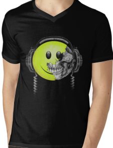 Smile Monster Mens V-Neck T-Shirt