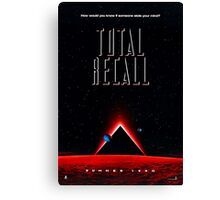 Total Recall Canvas Print
