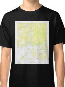 USGS TOPO Map Arkansas AR Brownsville 258065 1973 24000 Classic T-Shirt