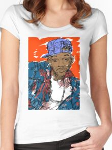 90s Style Fresh Prince  Women's Fitted Scoop T-Shirt