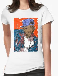 90s Style Fresh Prince  Womens Fitted T-Shirt