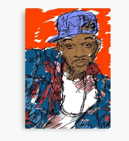 90s Style Fresh Prince  Canvas Print